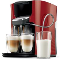 Senseo Latte Duo HD7855/80 Padmaschine Rot