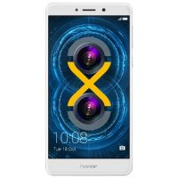 Honor 6X Premium 4/64GB silver Android Smartphone mit Dual-Kamera