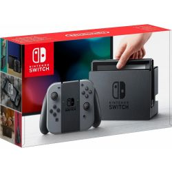 Nintendo Switch Konsole + Joy-Con grau Bild0