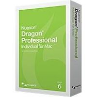 Nuance Dragon Professional Individual 6.0 for Mac Education, Minibox