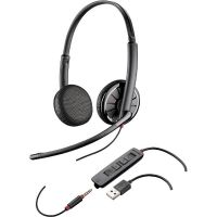 Plantronics Blackwire C325.1 Binaurales Headset wahlw. Klinkenstecker/USB