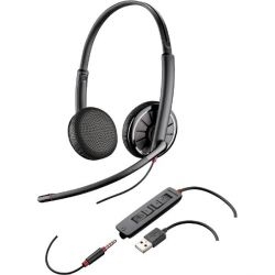Plantronics Blackwire C325.1 Binaurales Headset wahlw. Klinkenstecker/USB Bild0