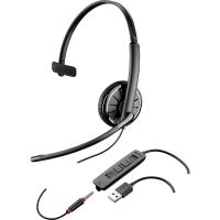 Plantronics Blackwire C315.1 Monaurales Headset wahlw. Klinkenstecker/USB
