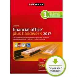 Lexware financial office plus handwerk 2017 Jahresversion 365 Tage, ESD Bild0