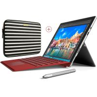 Surface Pro 4 inklusive passendem Type Cover und Kate Spade Sleeve.