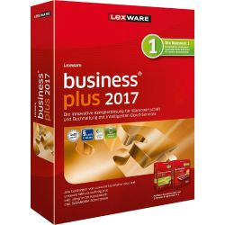 Lexware business plus 2017 Jahresversion (365-Tage) Minibox Bild0