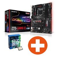 Bundle Gigabyte GA-Z270-Gaming K3 ATX Mainboard + Intel Core i5-7600K