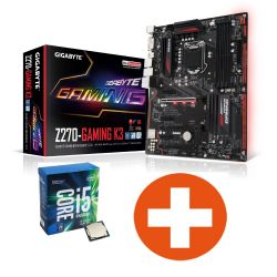 Bundle Gigabyte GA-Z270-Gaming K3 ATX Mainboard + Intel Core i5-7600K Bild0