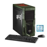 Hyrican Military Gaming PC 5477i7-7700k 16GB 1TB 250GB SSD GTX 1070 Windows 10