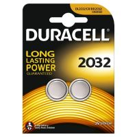DURACELL Long Lasting Power Knopfzelle Batterie CR 2032 2er Blister
