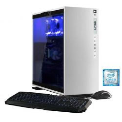 Hyrican Elegance blanc 5435 PC i7-7700 16GB 2TB 250GB SSD GTX 1070 Windows 10 Bild0