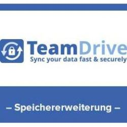 TeamDrive 10GB Hosted Cloud Storage, Lizenz Bild0