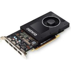 PNY NVIDIA Quadro P2000 5GB PCIe 3.0 Workstation Grafikkarte 4x DP Bild0