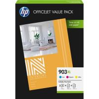 HP 903 XL Original Druckerpatronen Value Pack Cyan, Magenta, Gelb (1CC20AE)