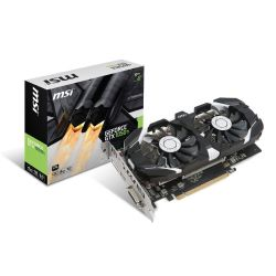 MSI GeForce GTX 1050Ti 4GT OC 4GB GDDR5 DVI/HDMI/DP Grafikkarte Bild0