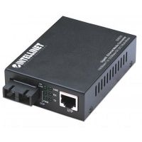 Intellinet Gigabit Ethernet Medienkonverter SC Multimode 550m