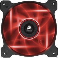 Corsair Air Series AF120 LED Red Quiet Edition Lüfter 120x120x25mm