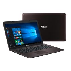 AsusX756UQ-T4206T Notebook i7-7500U SSD Full HD Geforce 940 MX Windows 10  Bild0