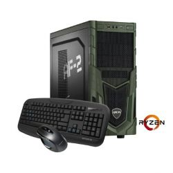 Hyrican Military Gaming 5490 Ryzen R7 1700X 16GB 1TB 120GB SSD GTX 1060 Win 10 Bild0