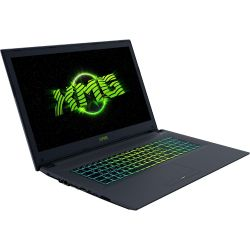 XMG A707-qjb Gaming Notebook i7-7700HQ Full HD GTX 1050Ti ohne Windows Bild0