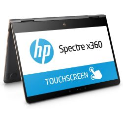 HP Spectre x360 13-ac012ng 2in1 Notebook schwarz i7-7500U SSD Full HD Windows 10 Bild0
