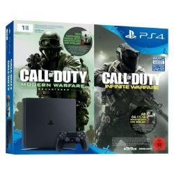 Sony PlayStation 4 Slim 1TB Konsole Bundle Call of Duty: Infinite Warfare FSK18 Bild0