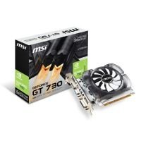 MSI GeForce GT 730 N730-4GD3V2 4GB PCIe DDR3 DVI/VGA/HDMI PCIe Grafikkarte