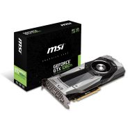 MSI GeForce GTX 1080Ti Founders Edition 11GB GDDR5X Grafikkarte HDMI/3x DP