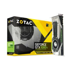 Zotac GeForce GTX 1080Ti Founders Edition 11 GB GDDR5X Grafikkarte 3xDP/HDMI Bild0