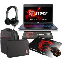 MSI GS70-6QE81 Gaming Notebook i7-6700HQ 8GB/1TB GTX970M Windows 10 + BUNDLE