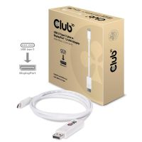 Club 3D USB 3.1 Typ-C Kabel auf DisplayPort 1.2 UHD Adapter 1,2m CAC-1517
