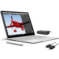 Surface Book inklusive Surface Dockingstation und Surface Wireless Display Adapter
