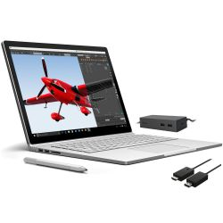 "Surface Book CS5-00010 i7-6600U 8GB/256GB SSD 13"" QHD+ GF 940M W10P Bundle Bild0"