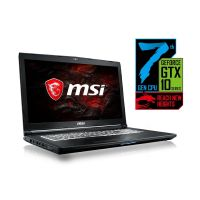 MSI GL72 7RDX-602 Gaming Notebook i7-7700HQ Full HD GTX1050 ohne Windows