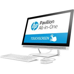 HP Pavilion 24-b250ng All-in-One PC i7-7700T FHD Touch SSD GeForce 930MX Win 10 Bild0
