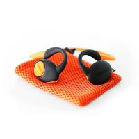 Boompods Sportpods enduro orange In-Ear Bluetooth Kopfhörer