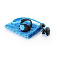 Boompods Sportpods enduro blau In-Ear Bluetooth Kopfhörer