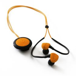 Boompods Sportpods race orange In-Ear Bluetooth Kopfhörer Bild0