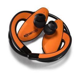 Boompods Sportpods orange Over-Ear Ohrbügel Kopfhörer Kabel/Bluetooth Bild0
