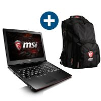 MSI GP62MVR-6RFN161 Gaming Notebook i7-6700HQ 1TB GTX 1060 Windows 10 + Rucksack