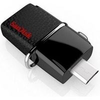 SanDisk Ultra Android Dual 128GB USB 3.0 Type-A/USB Laufwerk schwarz