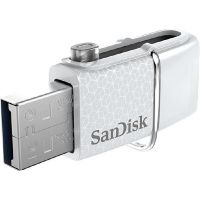 SanDisk Ultra Android Dual 32GB USB 3.0 Type-A/USB Laufwerk weiß