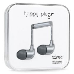 Happy Plugs7834 In-Ear-Kopfhörer matt Space Grau Deluxe Bild0