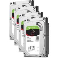 Seagate 4er Set IronWolf NAS HDD ST4000VN008 - 4TB 5900rpm 64MB 3.5zoll SATA600