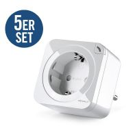 devolo Home Control 5er Set Schalt- & Messsteckdose 2.0 (Smart Home, Steckdose)