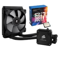 Intel Core i7-7700K & Corsair Hydro Series H60 Wasserkühlung Bundle