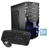 Hyrican Alpha Gaming 5509 PC i7-7700 16GB 1TB 240GB SSD GTX 1080Ti Windows 10