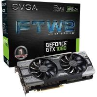 EVGA GeForce GTX 1080 FTW2 Gaming iCX 3.0 8GB GDDR5 DVI/HDMI/3xDP Grafikkarte