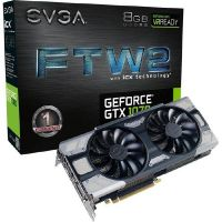 EVGA GeForce GTX 1070 FTW2 Gaming iCX 8GB GDDR5 DVI/HDMI/3xDP Grafikkarte