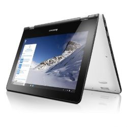Lenovo YOGA 300-11IBR 2in1 Notebook weiß N3060 Windows 10 Bild0
